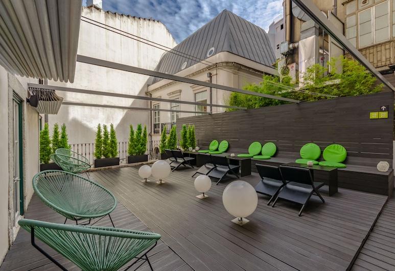 Hotel Gat Rossio, Λισσαβώνα, Αίθριο/βεράντα