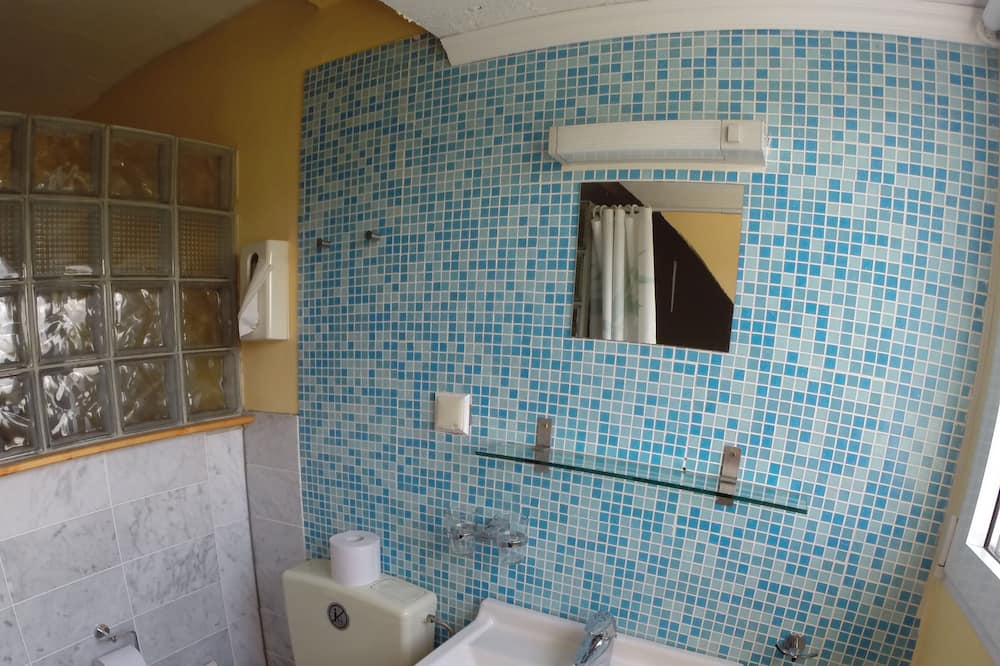 Economy Double Room with WC & washbasin, no shower - Vonios kambarys