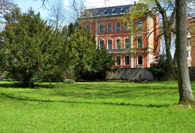 Fürstenhof am Bauhaus Weimar, ויימר, גינה