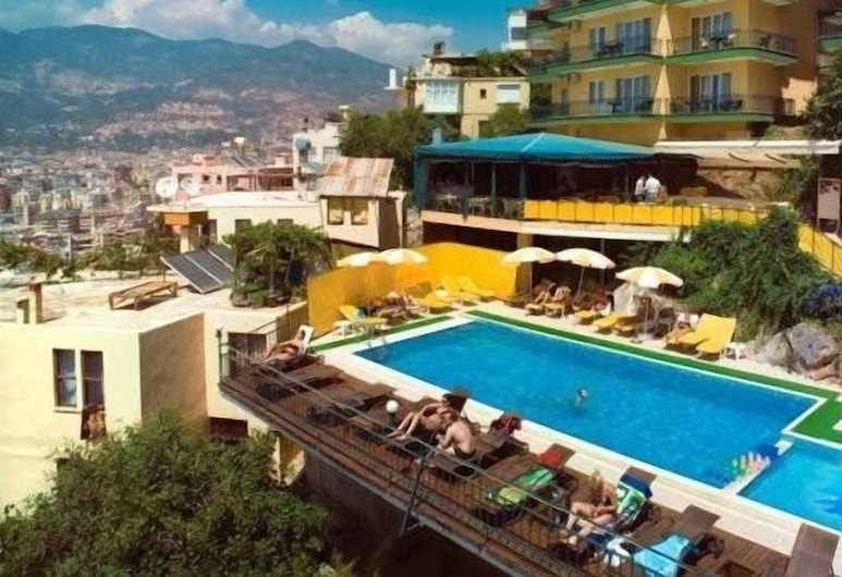 Bella Vista Suit Hotel, Alanya, Havadan Görünüm