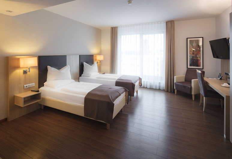 Best Western Plus Hotel LanzCarré, Mannheim, Standard Room, 2 Twin Beds, Kitchenette, Guest Room