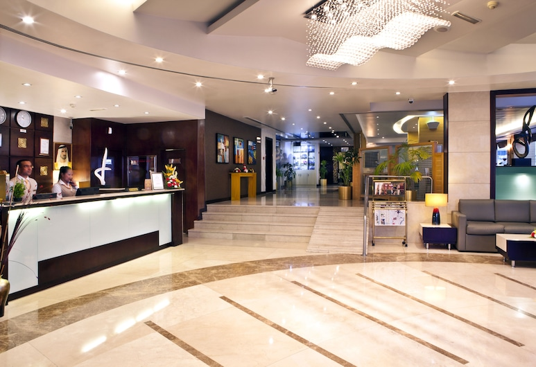 Landmark Hotel Riqqa, Dubajus, Vestibiulis
