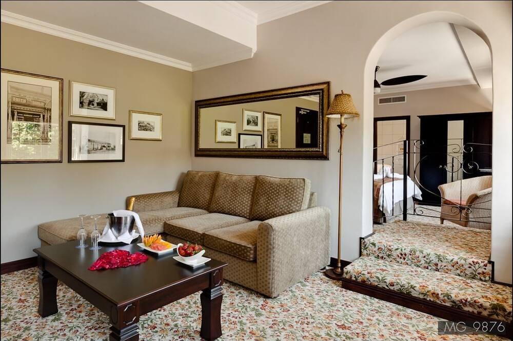 Номер-люкс, 1 ліжко «кінг-сайз» (Presidential Suite) - Житлова площа