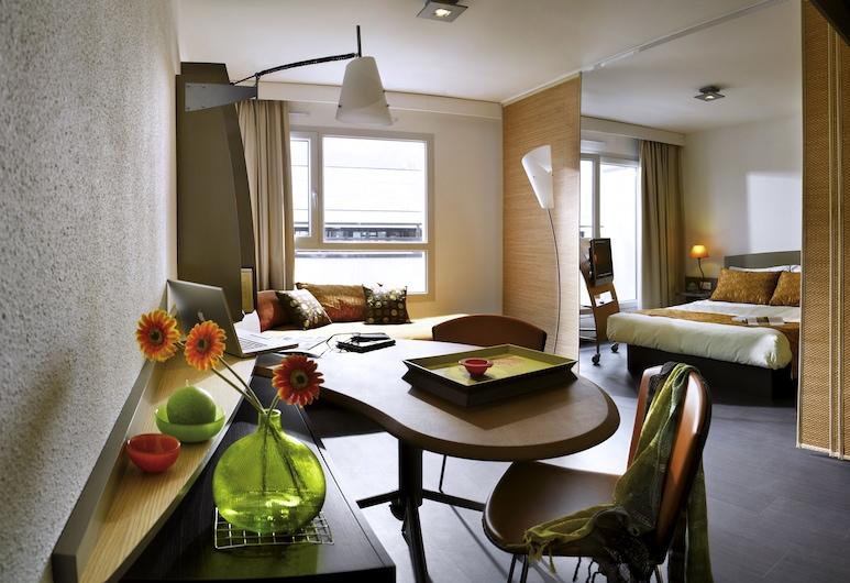 Aparthotel Adagio Nantes Centre, Nantes, Studio, plusieurs lits (3 People), Coin séjour