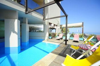 Fotografia do Steris Elegant Beach Hotel & Apartments em Retimno