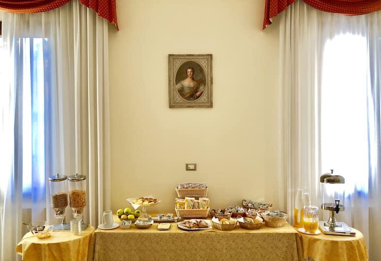 Hotel Marte, Venise, Salle de petit-déjeuner