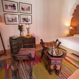 Chambre Supérieure Double ou avec lits jumeaux, non-fumeurs, salle de bains privée - Coin séjour