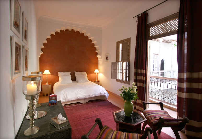 Riad Altair, Marrakech, Habitación superior con 1 cama doble o 2 individuales, para no fumadores, baño privado, Habitación