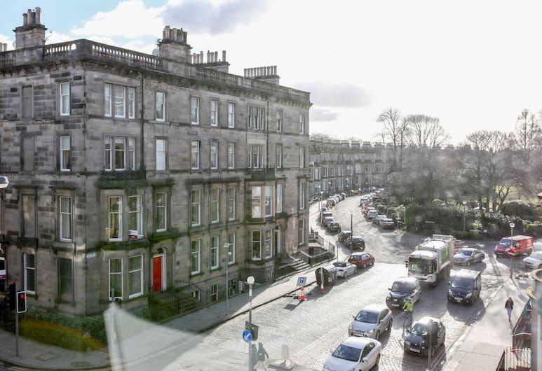 West End Hotel - Hostel, Edinburgh, Spoločná zdieľaná izba typu Basic, spoločná izba pre mužov aj ženy, vlastná kúpeľňa, Výhľad z hosťovskej izby