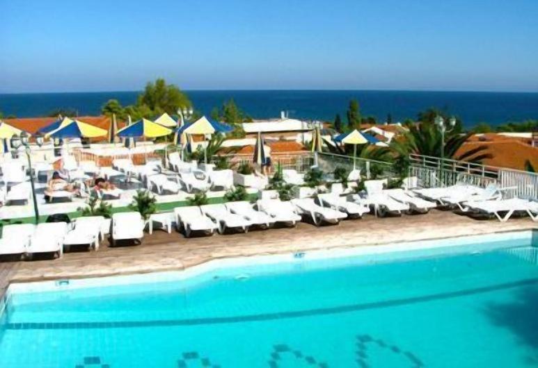 Captains Hotel, ΑΡΓΑΣΙ, Εξωτερική πισίνα