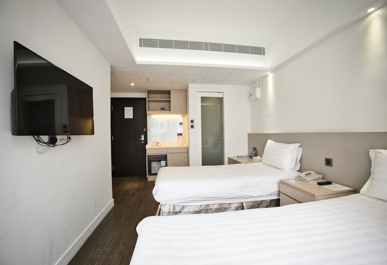 Wifi Boutique Hotel, Hong Kong, Superior Twin Room, Guest Room