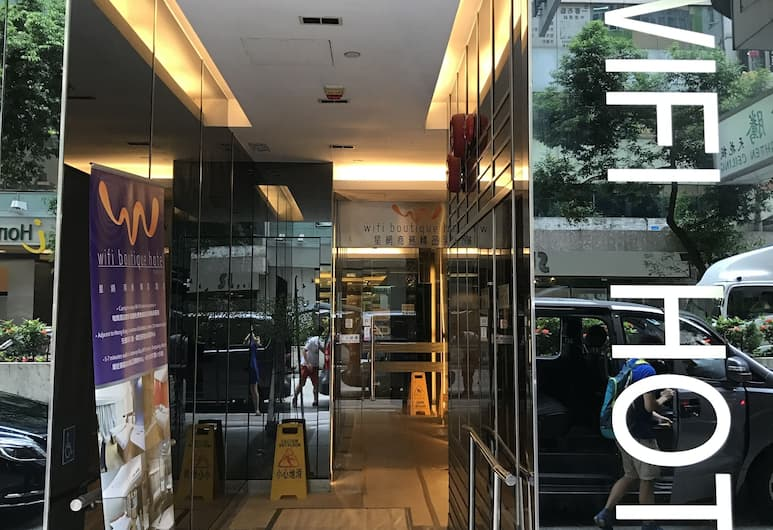 Wifi Boutique Hotel, Hongkong, Hotellets front