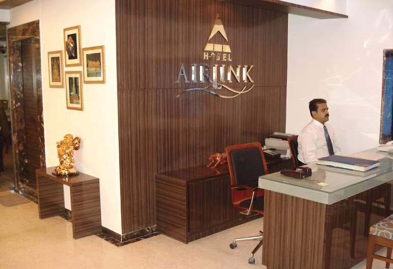 Hotel Airlink, Bombay, Resepsiyon