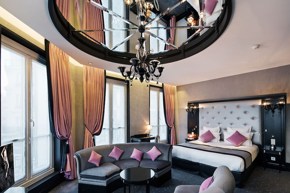 Exclusive-Suite, 1King-Bett, Nichtraucher - Wohnzimmer
