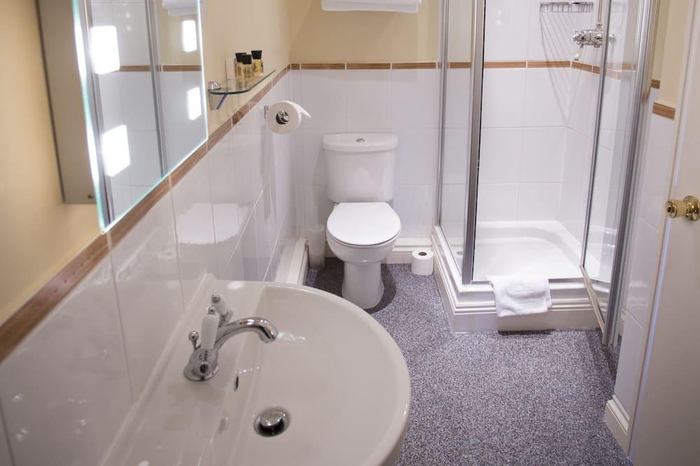 Chambre Simple, salle de bains privée - Salle de bain