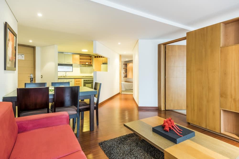 Căn hộ dành cho gia đình, 2 phòng ngủ - Phòng khách