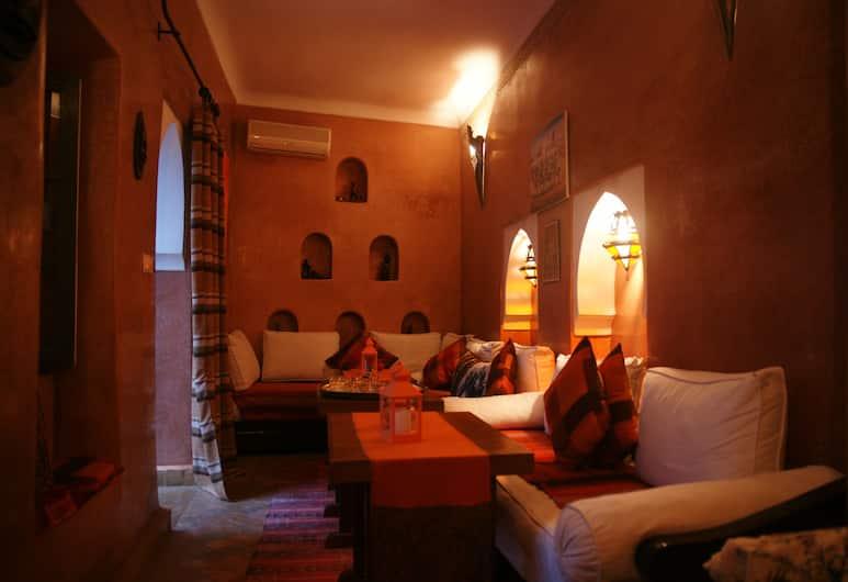 Dar Zemrane, Marrakech, Salon du hall