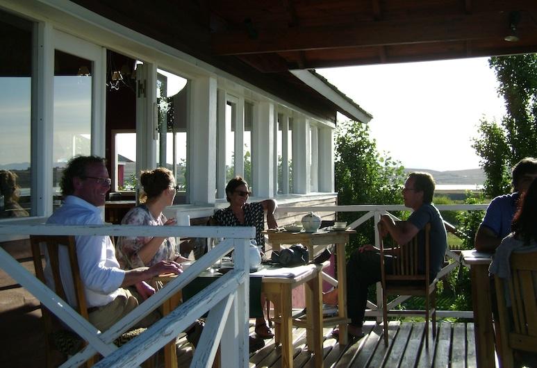 Cauquenes de Nimez, El Calafate, Terraza o patio