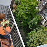 雙床房, 2 張單人床, 按摩浴缸, 花園景觀 - 陽台