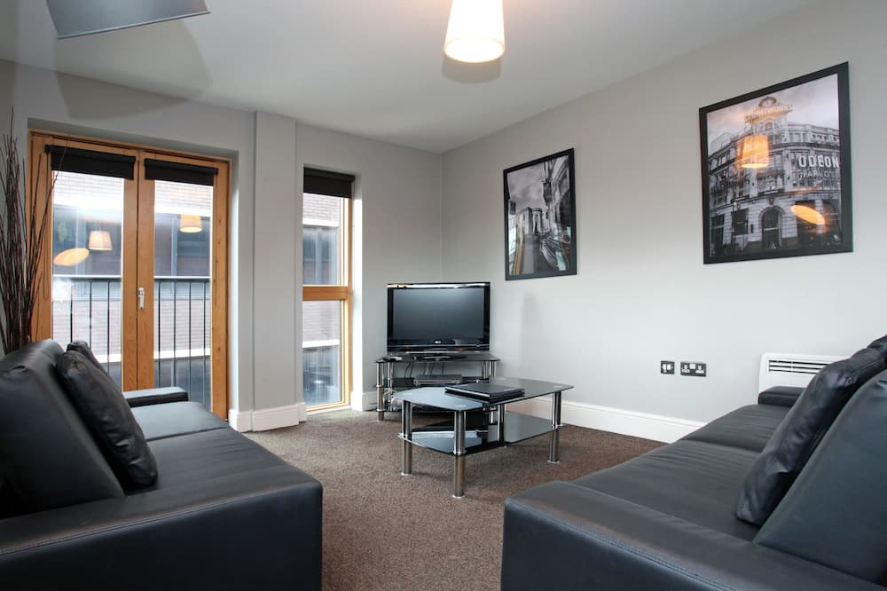 Departamento, 1 habitación (sleeps 4) - Sala de estar