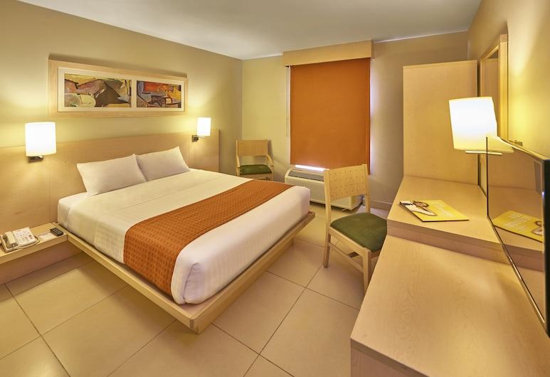 City Express Los Mochis, Los Mochis, ห้องสแตนดาร์ด, เตียงควีนไซส์ 1 เตียง, ห้องพัก