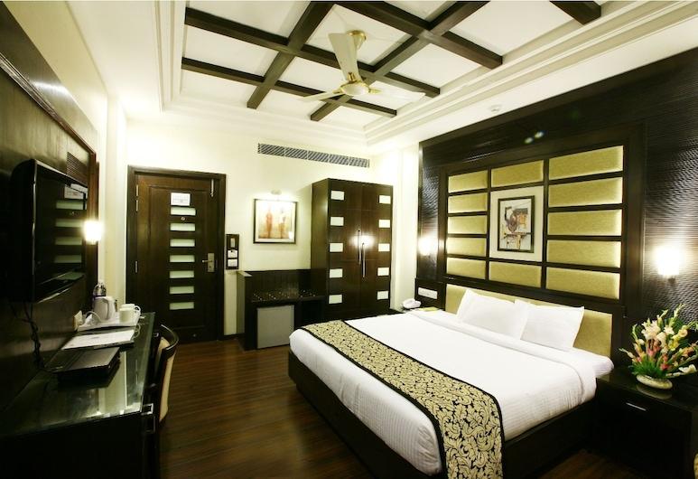 Karon Hotel - Lajpat Nagar, Nuova Delhi, Camera Deluxe, Camera