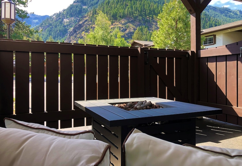 Blue Elk Inn, Leavenworth, Deluxe-Zimmer, Terrasse/Patio
