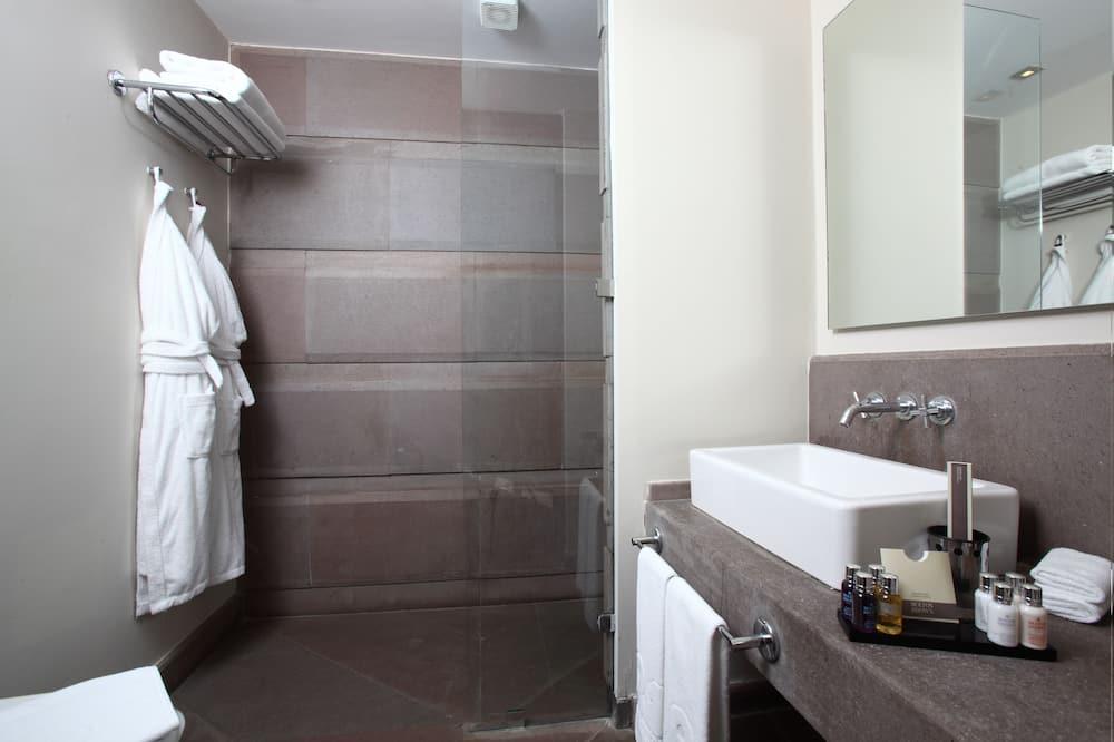 Habitación Deluxe, 1 habitación, vista al jardín - Baño