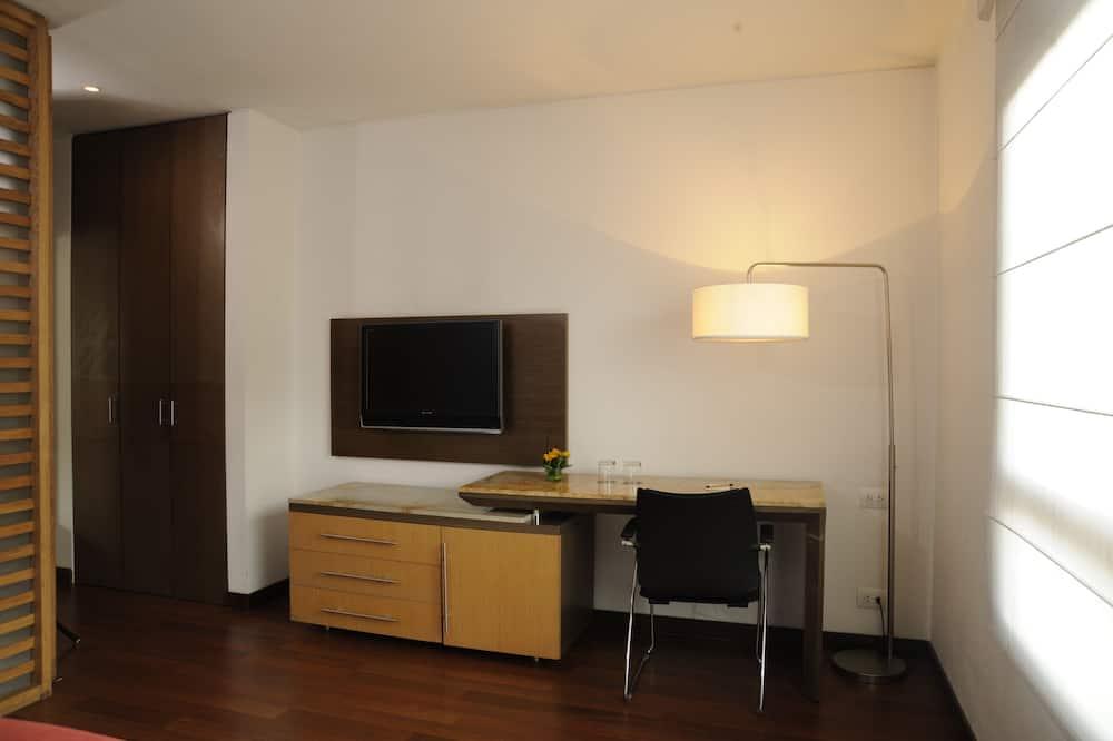 Standard szoba kétszemélyes ággyal - Nappali rész