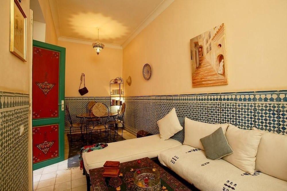 Suite familiar, baño privado - Sala de estar
