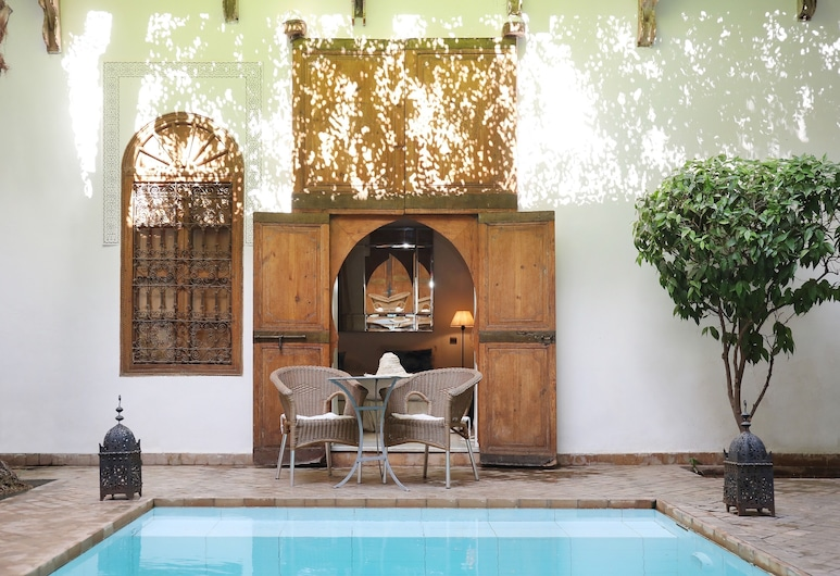 Riad Al Assala, Marrakech, Standard Double Room, Private Bathroom, View from Hotel