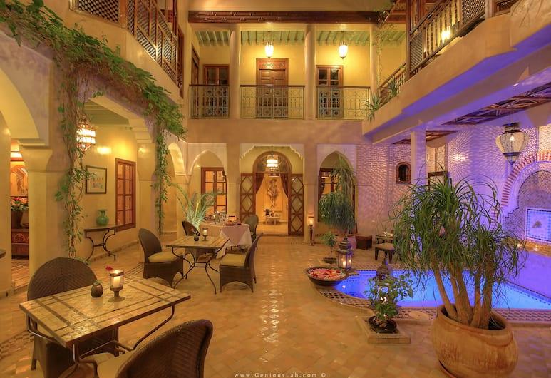 利雅德紮雅尼酒店, 馬拉喀什, 庭園