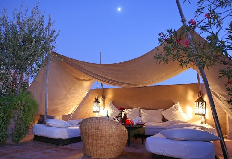 Riad O2, Μαρακές, Αίθριο/βεράντα