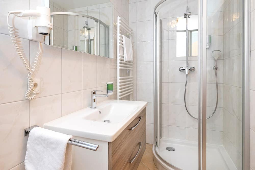Quarto Individual, 1 Quarto, Pátio - Casa de banho