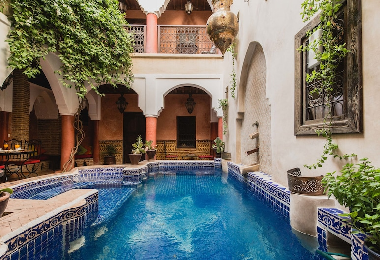 Riad Le Plein Sud, Marrakech, Interior Entrance