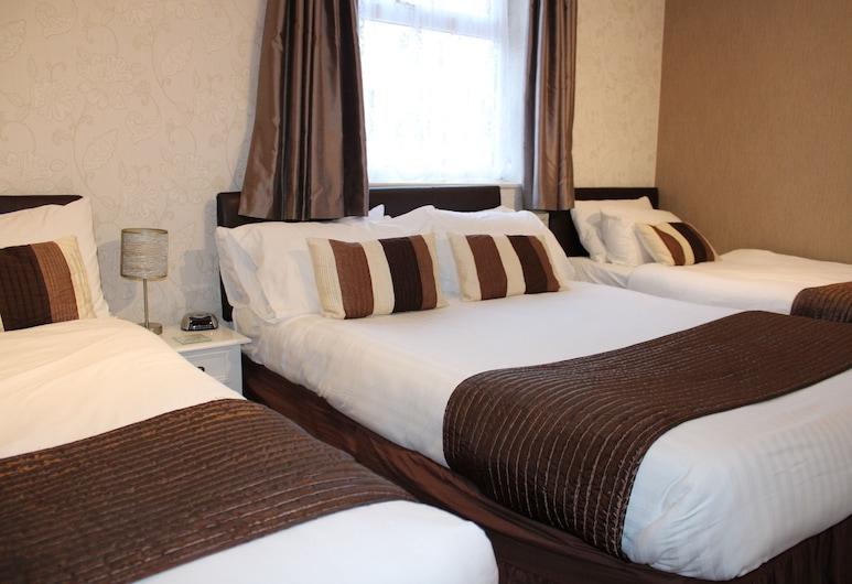 The Mardonia, Blackpool, Familien-Vierbettzimmer, Zimmer
