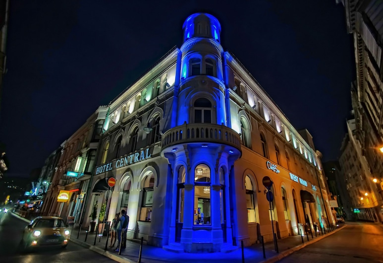 Boutique Hotel Central , Sarajevo, Hotel Front – Evening/Night