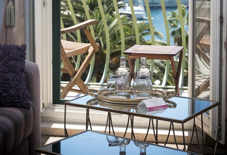 Hotel Park Hvar, Hvar, Deluxe Suite, Balcony, Sea View, Balcony
