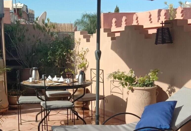 Riad Noor Charana, Marrakech, Terraza o patio