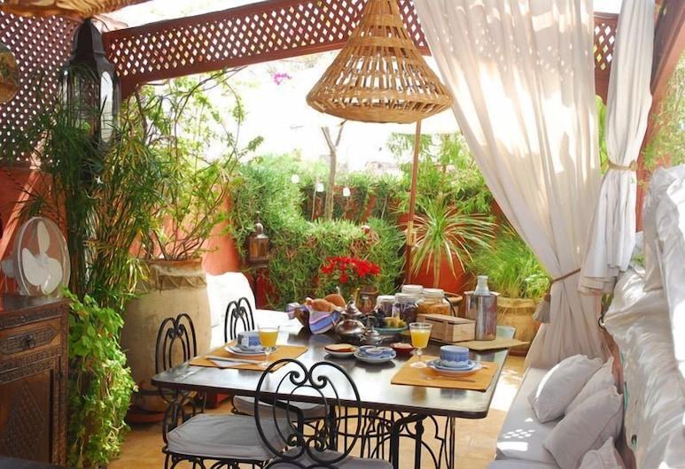 Riad La Terrasse des Oliviers, Marakešas, Pusryčių zona