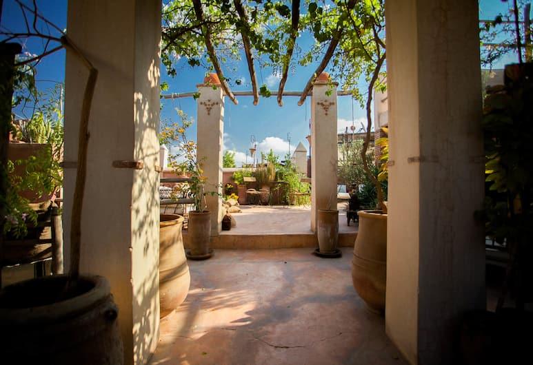 Riad les Inséparables, Marrakech, Terassi/patio