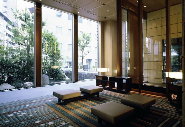 庭のホテル 東京, 千代田区, ロビー応接スペース