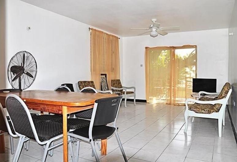 ميلبورن أبارتمنتس, Bridgetown, شقة، غرفة نوم واحدة, منطقة المعيشة