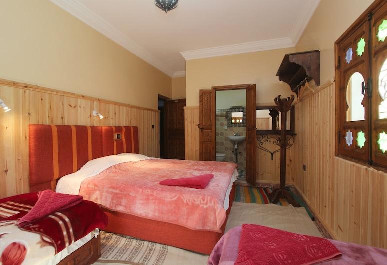 Dar Adrar, Asni, Habitación triple, baño privado, Habitación