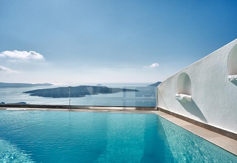 阿加利家酒店, 圣托里尼岛, 套房, 私人游泳池 (Sunset  Suite - Caldera View), 客房景观