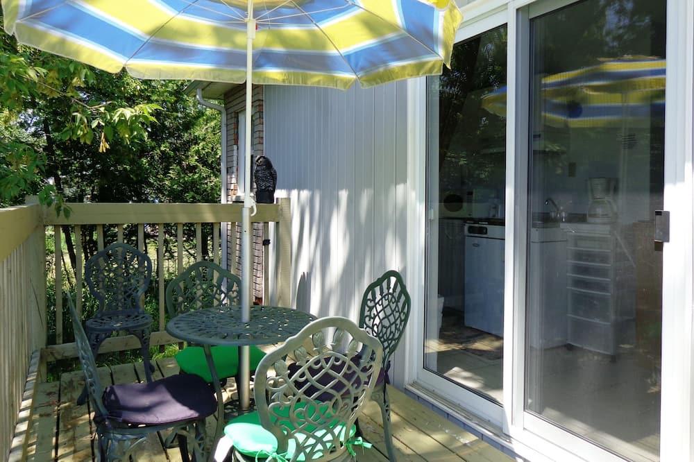 Studio Deluxe, balkon, widok na jezioro (kitchenette, 2 beds) - Balkon