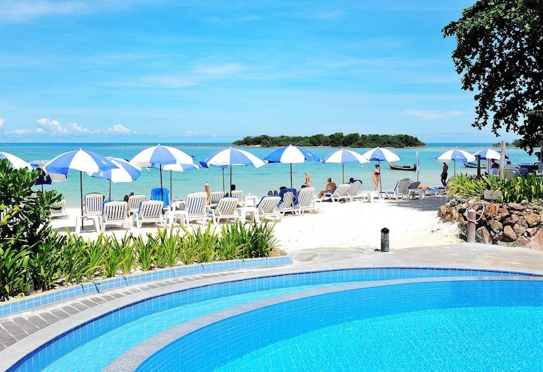 納提恩島度假村, 蘇梅島, 室外泳池