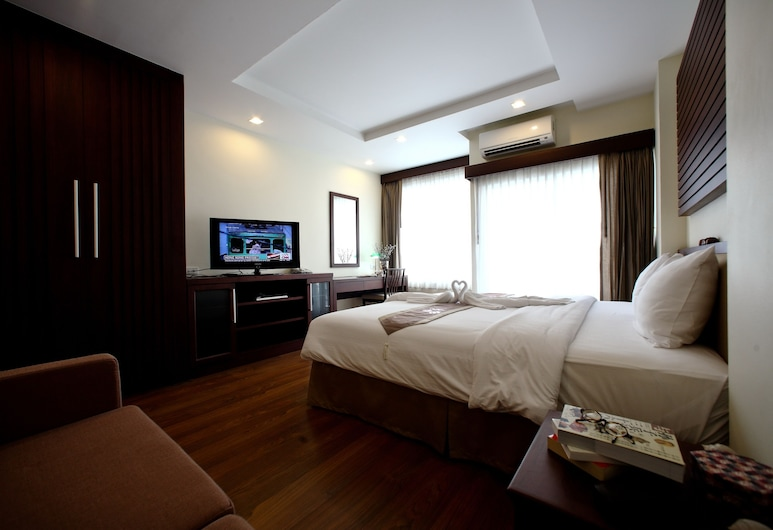 iCheck inn Residence soi 2, Bangkok, Deluxe connecting room, Guest Room