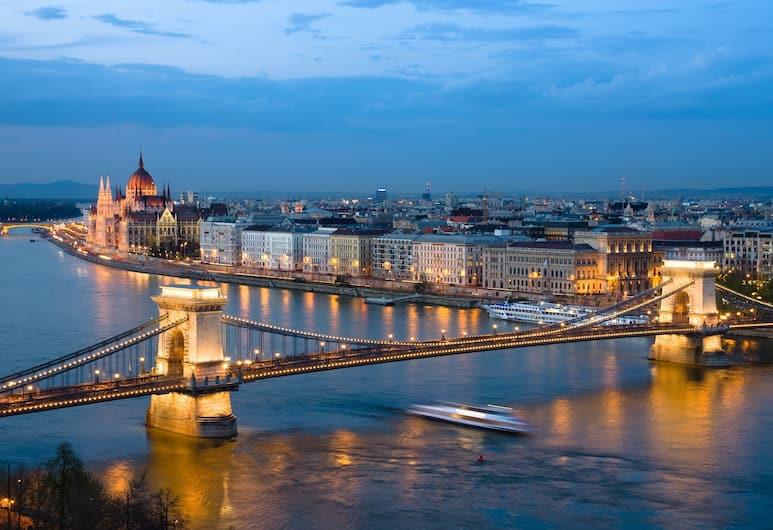 Budapest Panorama Central, Budapest, Utsikt från hotellet