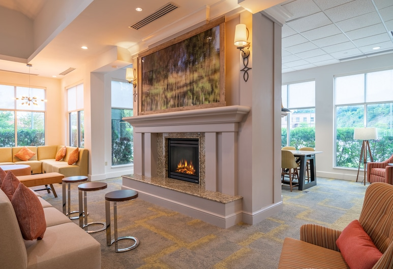 Hilton Garden Inn Morgantown, Morgantown, Sala de estar en el lobby